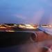 Landing at London Heathrow