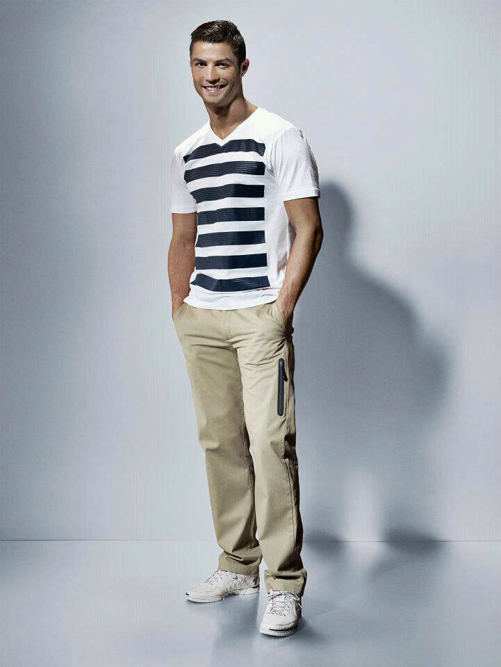 cristiano ronaldo modeling for nike