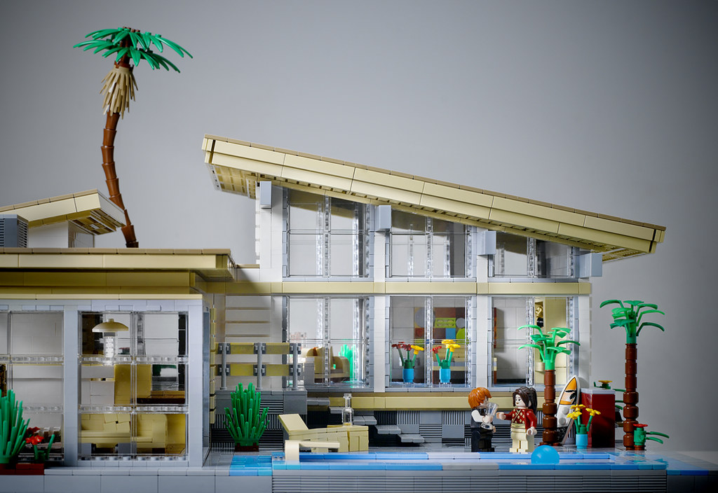 Villa Hillcrest Pool View Elevation Entry For Lego