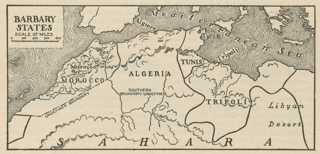 Barbary States From Quot Barbary States Quot The World Book