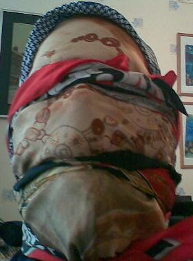 silk scarf wrap gagged blindfolded blanketson flickr