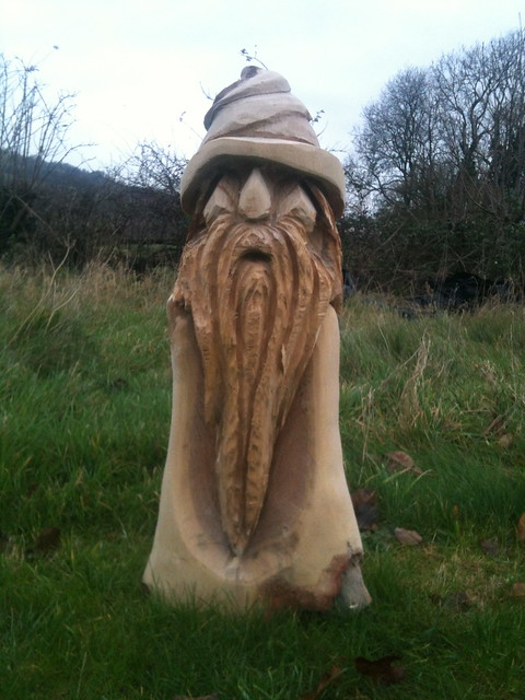 Wizard chainsaw carving flickr photo sharing