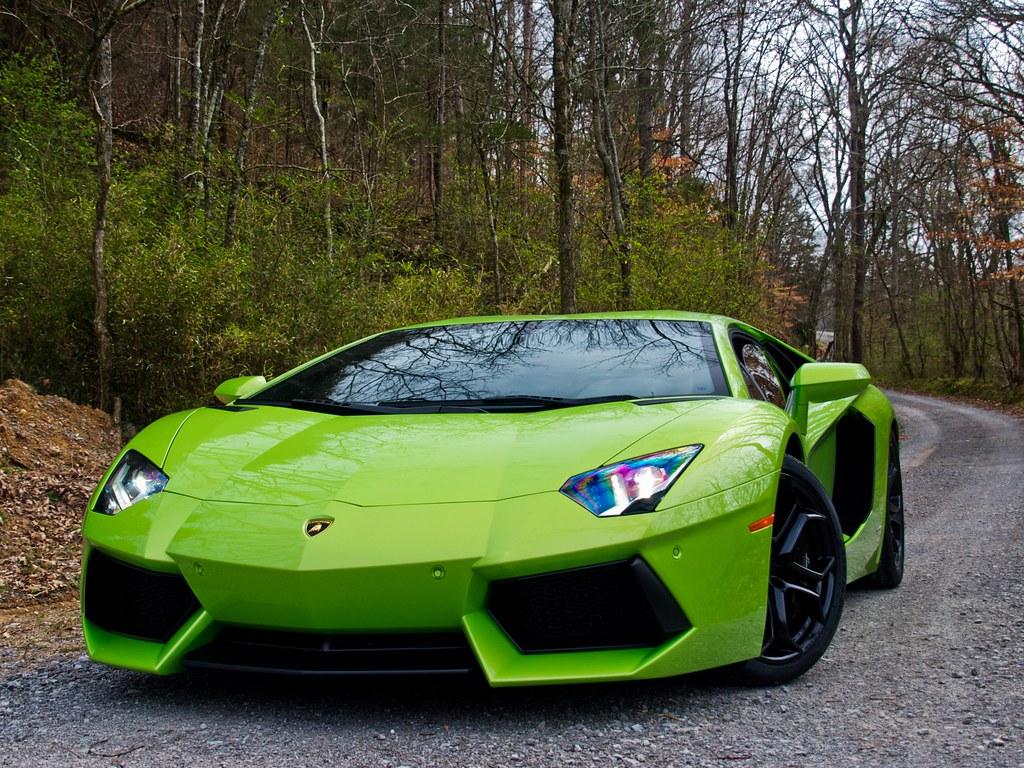 Free Download Free Green Lambo: Verde Ithaca Lamborghini Aventador LP700-4 Photo Shoot