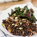 355/365 Black Quinoa Salad w/ Roasted Chard #mostly365