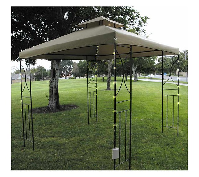 battery operated gazebo and boat patio umbrella lights. Black Bedroom Furniture Sets. Home Design Ideas