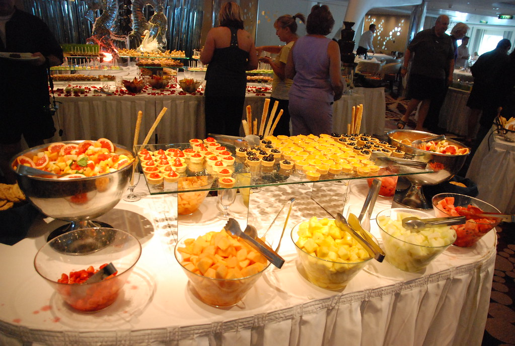 Fruits And Tarts Formal Brunch Aboard The Celebrity Equ