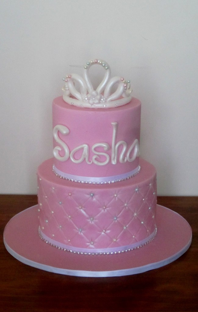Sparkly princess cake. My daughter s birthday cake ...