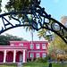 Entrance View of the Casa Rosa aka Pink House, Old San Juan Puerto Rico