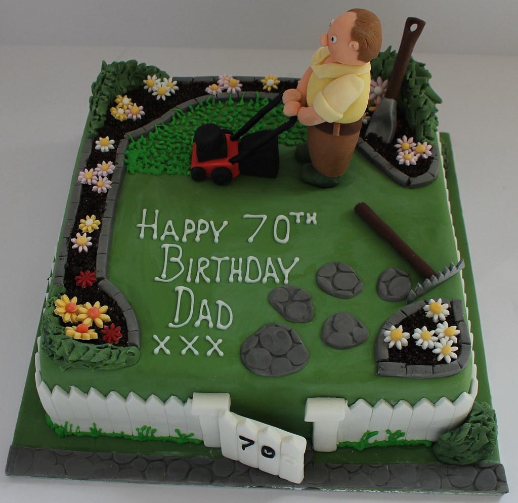 Gardeners birthday cake pauls creative cakes flickr for Gardening 80th birthday cake