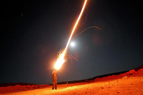 Shooting Fireworks | by Israel Defense Forces