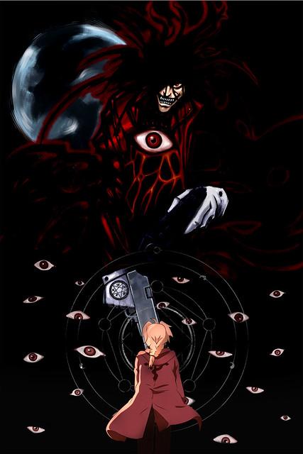 Vampire Alucard vs  Fullmetal Alchemist Edward ElricVampire Alucard