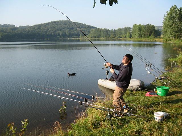 La meilleure place pour la pêche à ekaterinbourge
