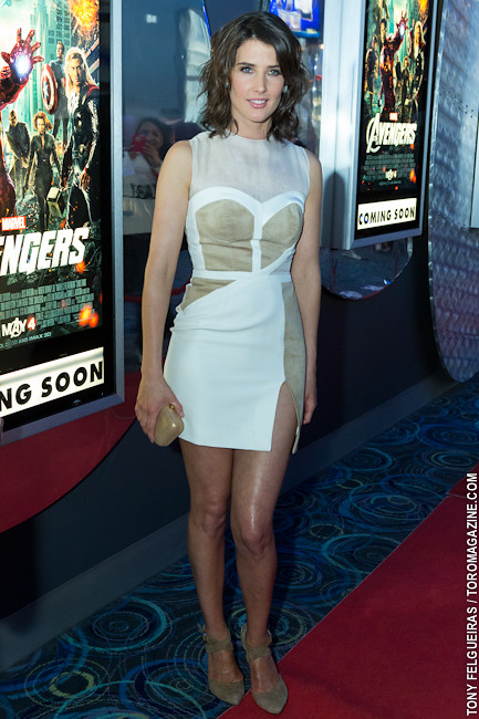 Cobie Smulders Marvel S Avengers Red Carpet Premiere T