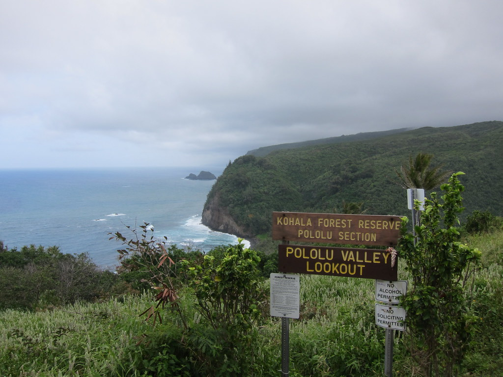 Pololu Valley Lookout Big Island