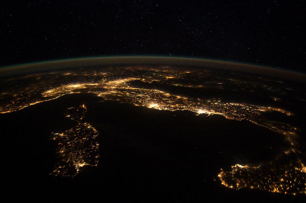 European Panorama (NASA, International Space Station, 01/2 ...