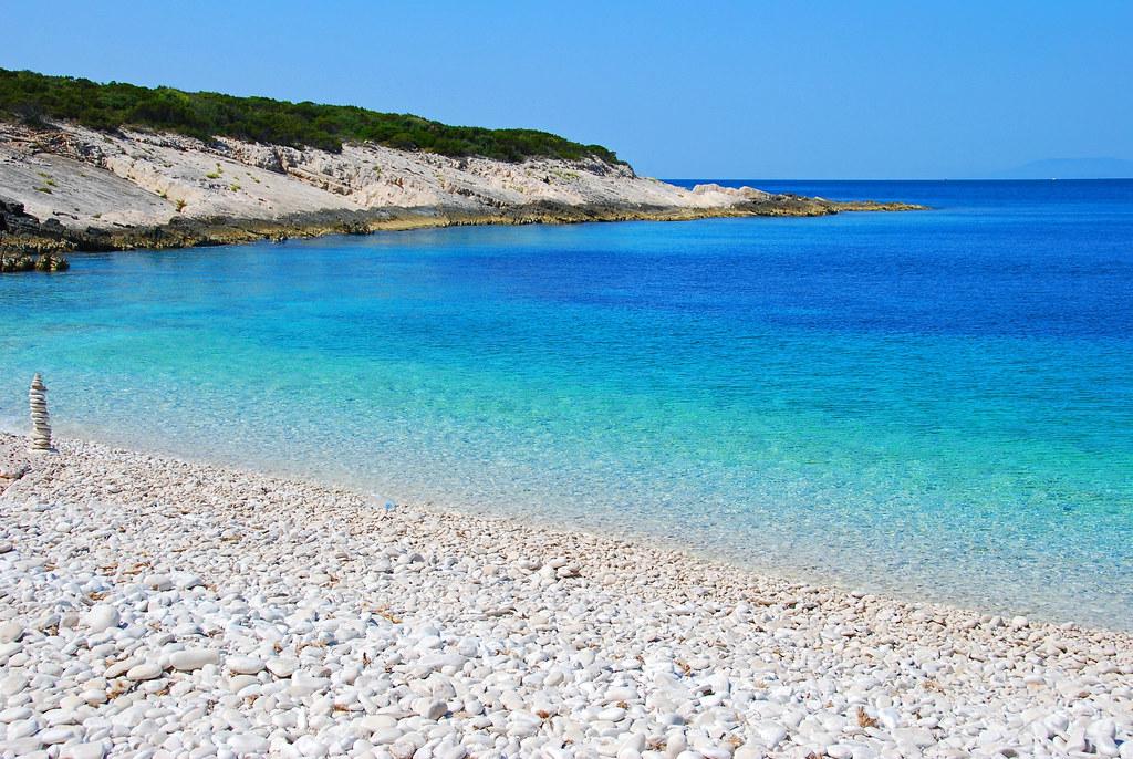 croatia - beach - proizd island - korcula
