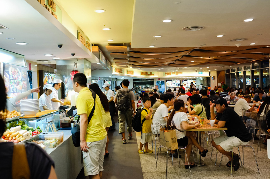 Crown casino food court map