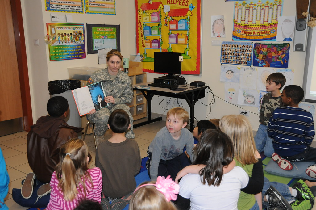 army africa soldiers volunteer time to read across americ flickr. Black Bedroom Furniture Sets. Home Design Ideas