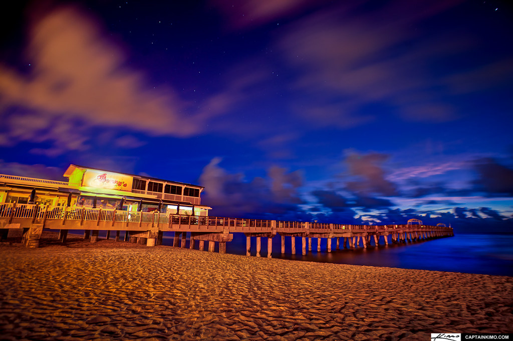 Benny 39 s on the beach lake worth pier florida captainkimo for Lake worth pier fishing