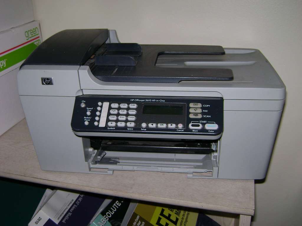hp officejet 5610 all in one printer 25 hp officejet 561 flickr. Black Bedroom Furniture Sets. Home Design Ideas