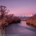 Winter Sunrise over the Owens River