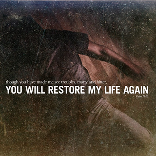 109/365 Restore my life again | by God's fingerprints