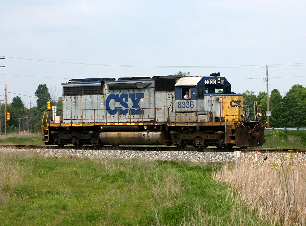Stealth An Ex Clinchfield Sd40 2 Still In The Old Csx