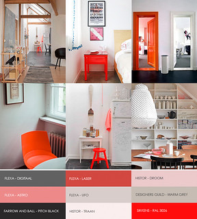 hot orange | by the style files