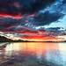 Shoal Bay sunset
