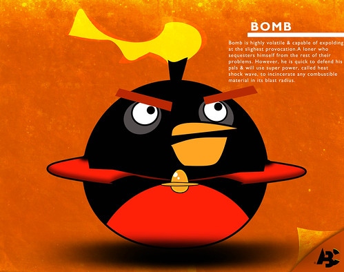 Bomb Bird Space Bomb Angry Birds Space