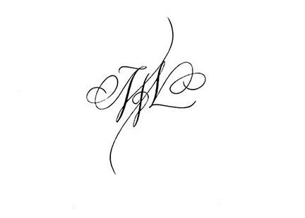 calligraphie tatouage calligraphie tatouages lettres entre. Black Bedroom Furniture Sets. Home Design Ideas