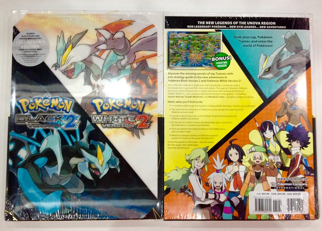 Pokemon white version 2 official strategy guide - collector's edition