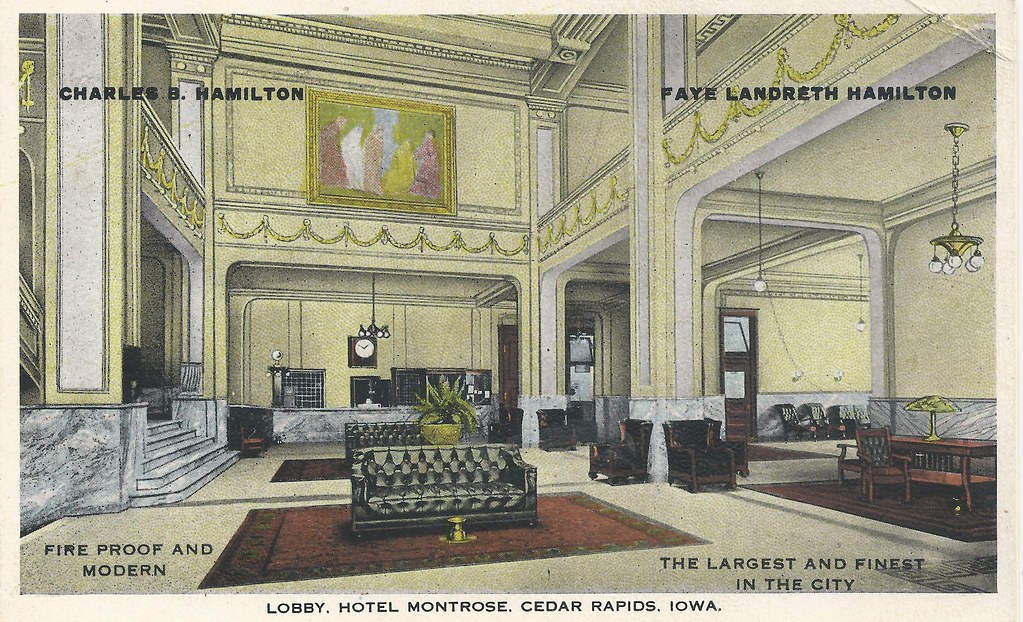 cedar rapids iowa hotel montrose lobby photolibrarian. Black Bedroom Furniture Sets. Home Design Ideas