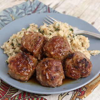 Honey Chipotle Turkey Meatballs | by Tracey's Culinary Adventures