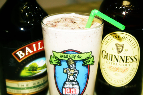 Guinness and Bailey's Milk Shake | by dirtygirlskitchen