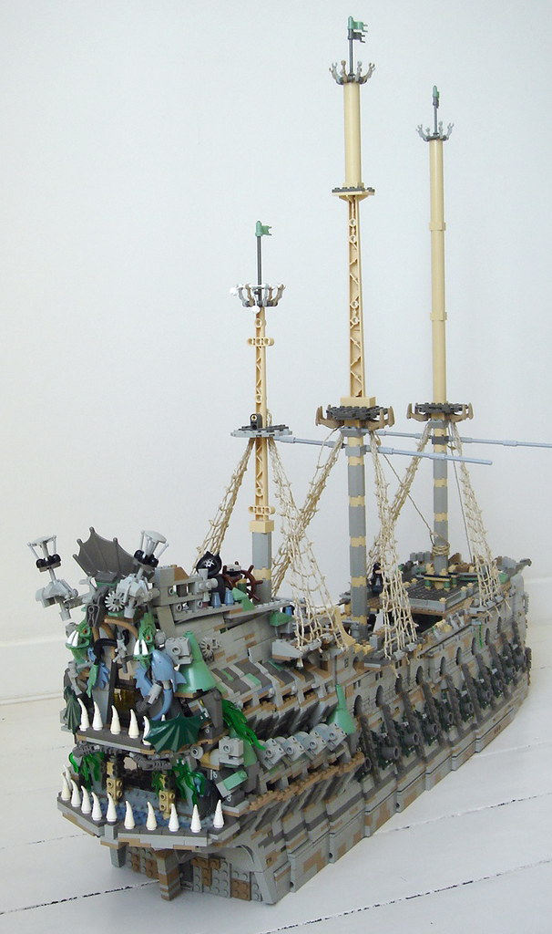 lego flying dutchman the notorious ghostship from