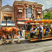 a day at disneyland #3 : horse-driven tram