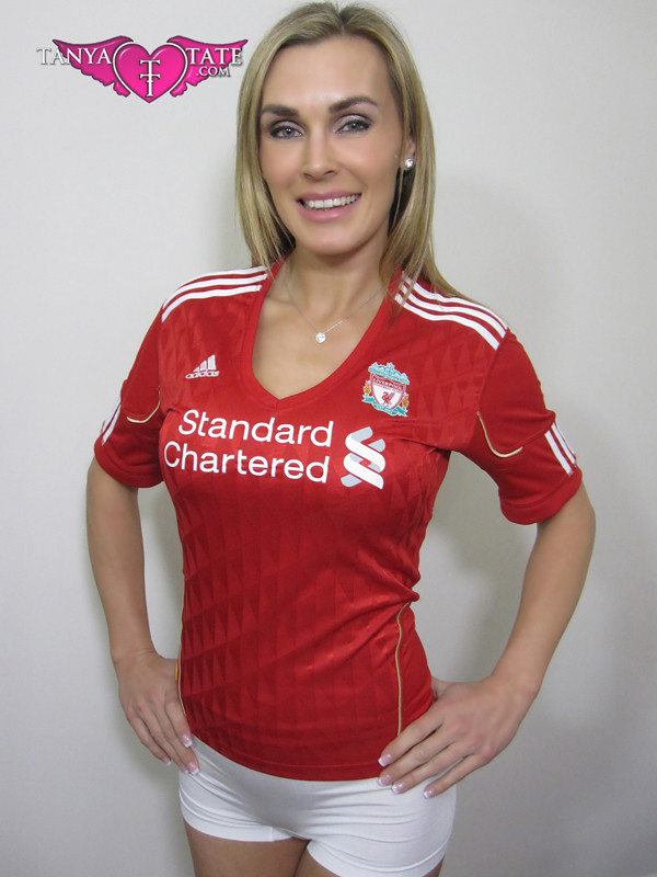 Tanya Tate Liverpool Jersey Front  Come Watch The -4891