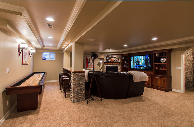 game room basement | awesome interior