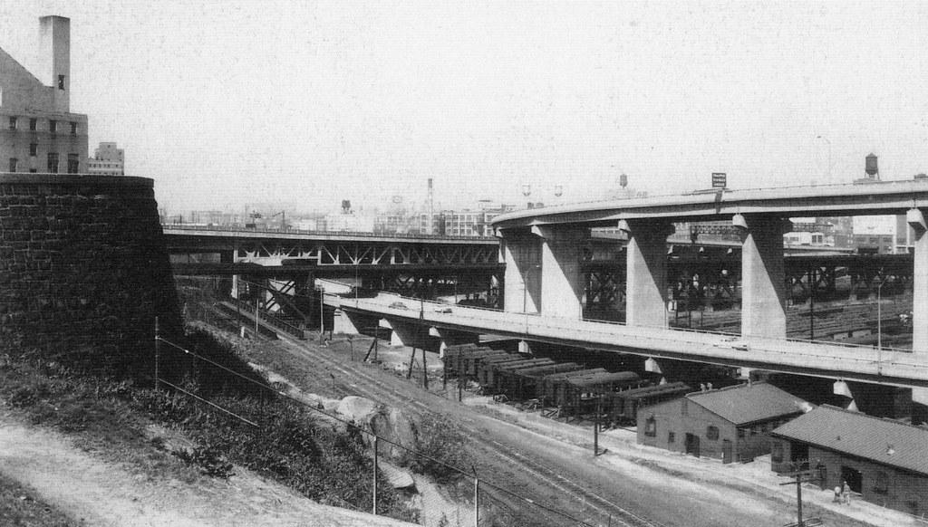 1950s urban futurism the highway of tomorrow the brand n for Motor city newark nj