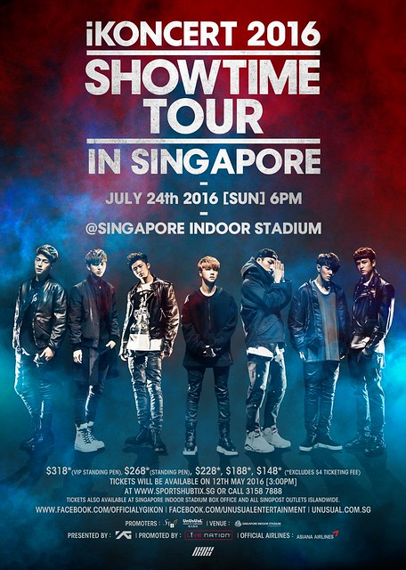 iKON SHOWTIME in Singapore