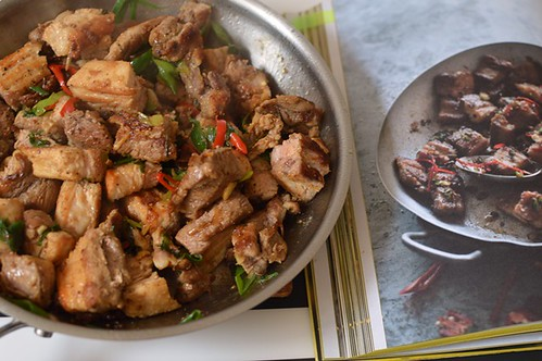 Salt & pepper pork belly