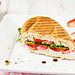 Strawberry & Goat Cheese Panini with Arugula and Balsamic