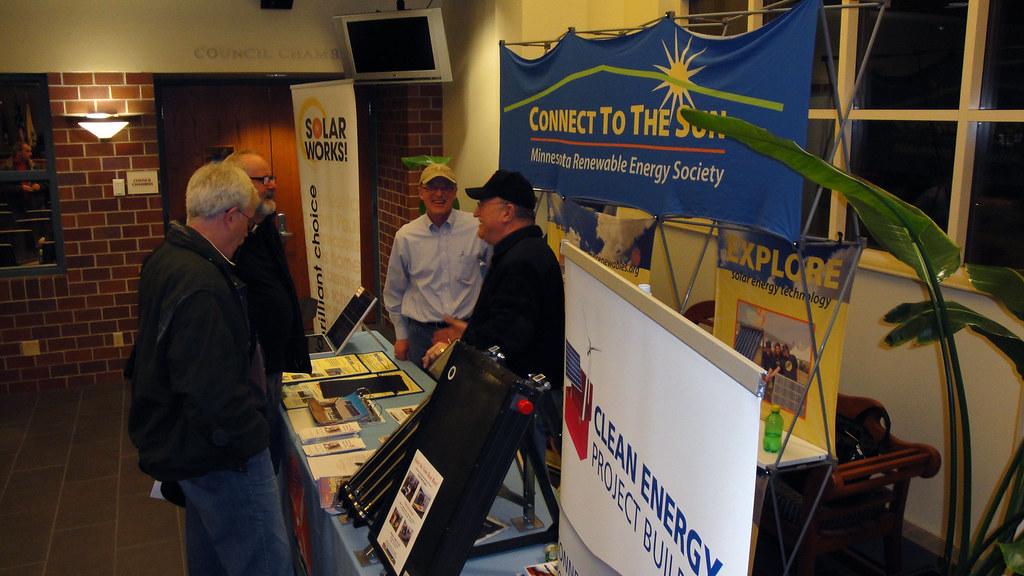 Mres Talks Solar Solarworks In Woodbury 99 People