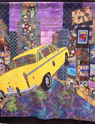 Magic in Times Square ~ Quilt by Janet Fogg | by Pam from Calif