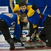 Napanee, ON Feb 12 2011 M&M Canadian Juniors Team Alberta Third Evan Asmussen Second Landon Bucholz, Lead Bryce Bucholz. Michael Burns Photo Ltd.