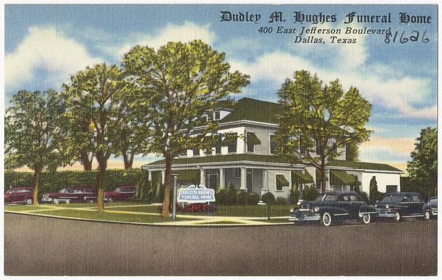 Dudley M Hughes Funeral Home Dallas Texas