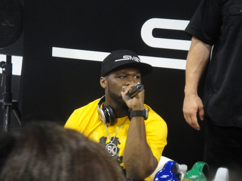 CES 2012 - SMS Audio - 50 Cent | by Doug Kline