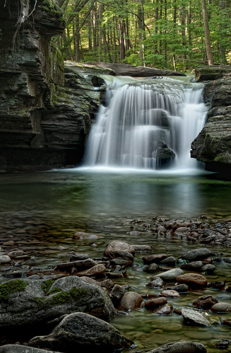 Mill Creek Falls Up Close | by VermontDreams