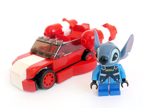 Stitch And Car I Can T Remember The Maker Of The